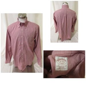 Brooks Brothers Men's Dress Shirt Original 16 2/3